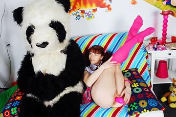 Real porn 4 fun with horny panda